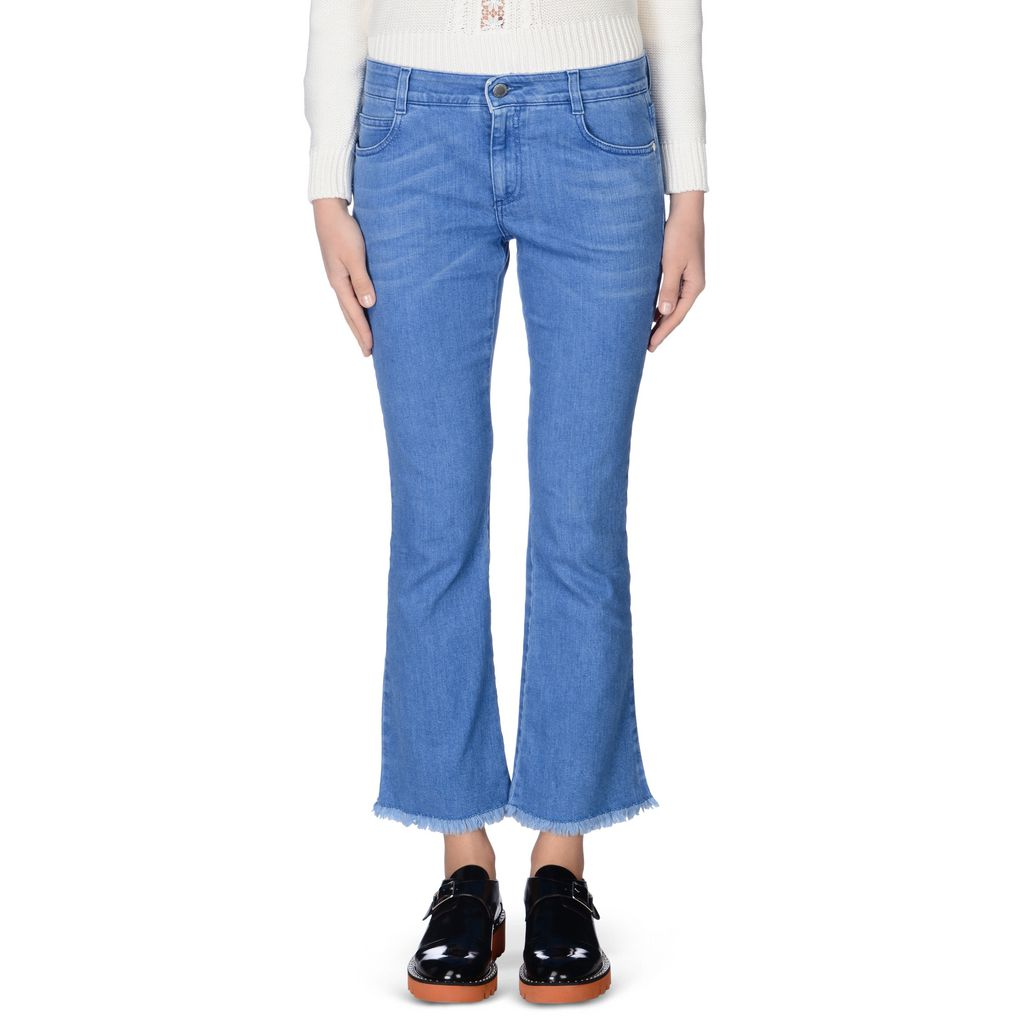 Ultra Blue Skinny Kick Jeans - STELLA MCCARTNEY