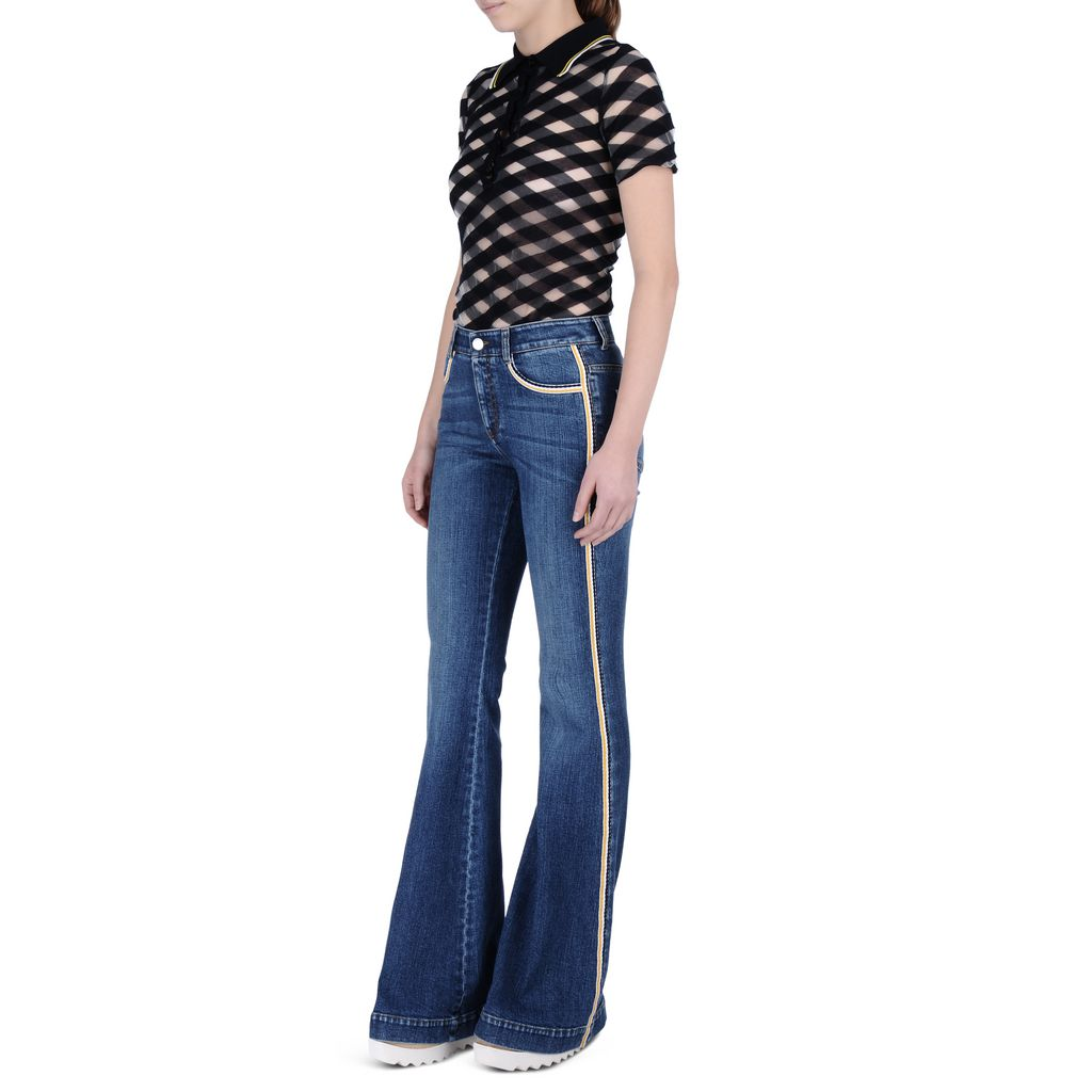 Classic Blue 70's Flares - STELLA MCCARTNEY