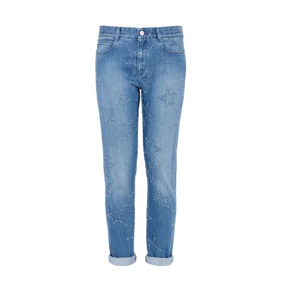 Fringed Stars Boyfriend Jeans