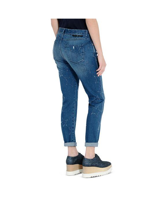 STELLA McCARTNEY Fringed Stars Boyfriend Jeans Boyfriend D g
