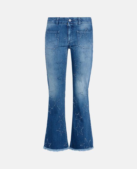Fringed Stars Skinny Kick Jeans