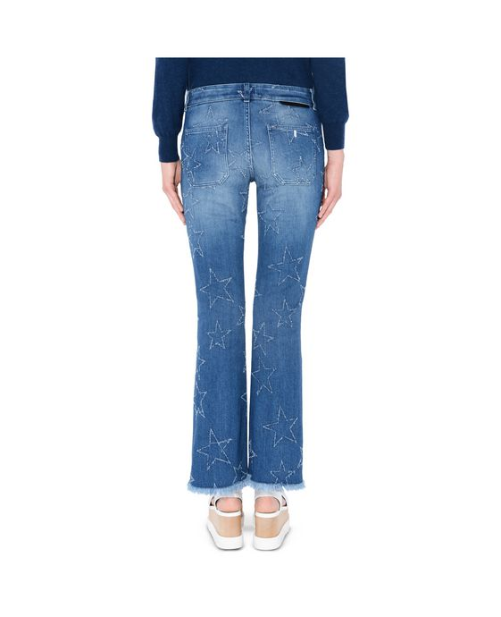 STELLA McCARTNEY Fringed Stars Skinny Kick Jeans Skinny Leg D g