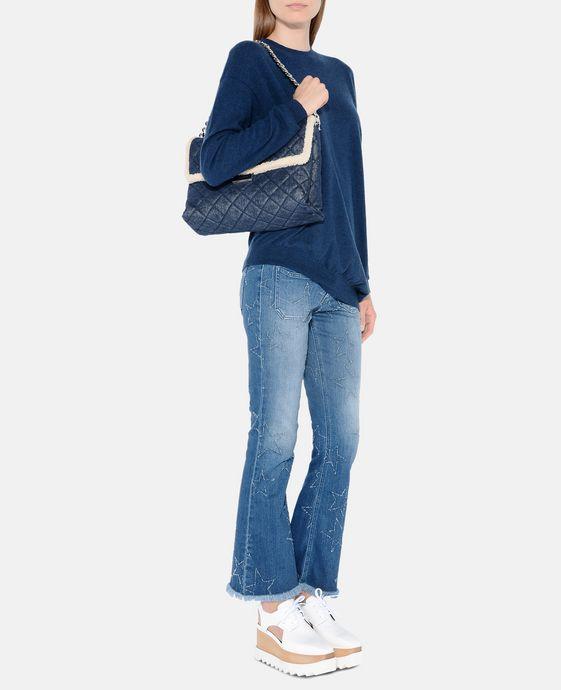 STELLA McCARTNEY Fringed Stars Skinny Kick Jeans Skinny Leg D h