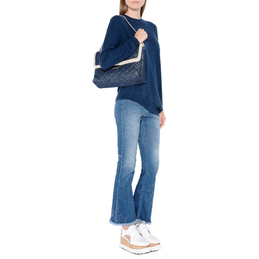 Fringed Stars Skinny Kick Jeans - STELLA MCCARTNEY