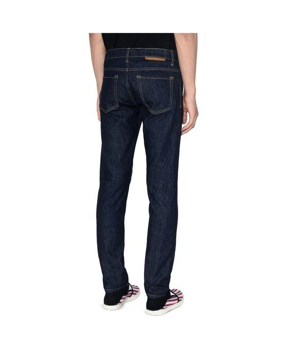 STELLA McCARTNEY MEN Raw Denim Straight Leg Jeans Men Straight Leg U g