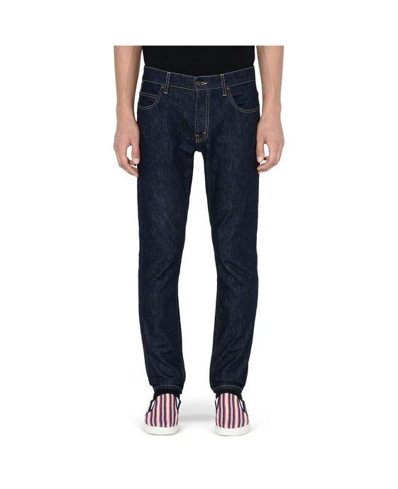 STELLA McCARTNEY MEN Raw Denim Straight Leg Jeans Men Straight Leg U i