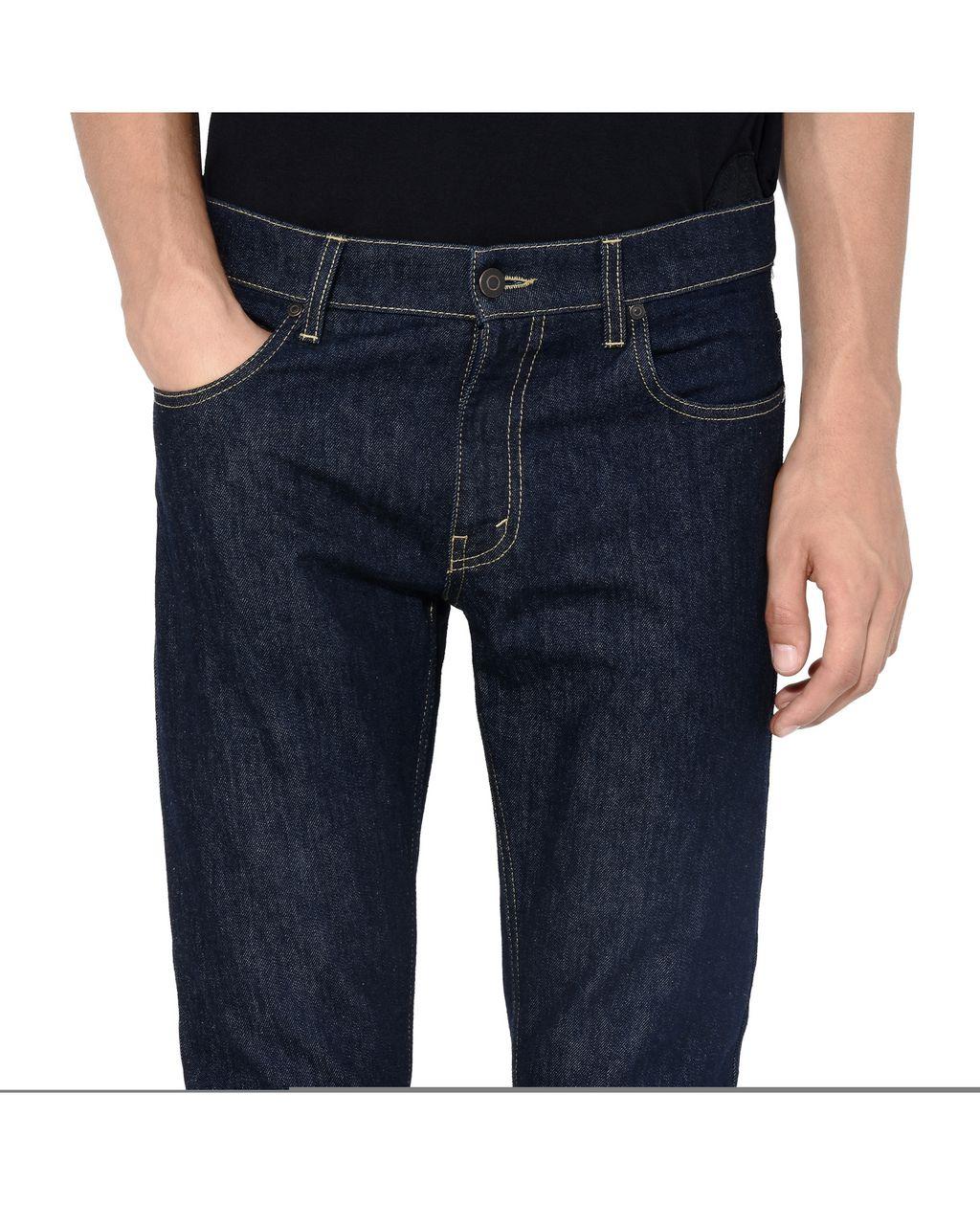 Raw Denim Straight Leg Jeans - STELLA McCARTNEY MEN