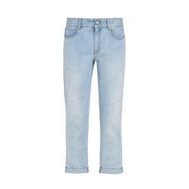 STELLA McCARTNEY Boyfriend D Skinny Boyfriend Fringed Stars Jeans  f