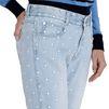 STELLA McCARTNEY Skinny Boyfriend White Star Jeans Boyfriend D a