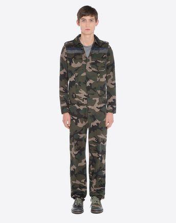 VALENTINO Pants U Camouflage cargo pants  r