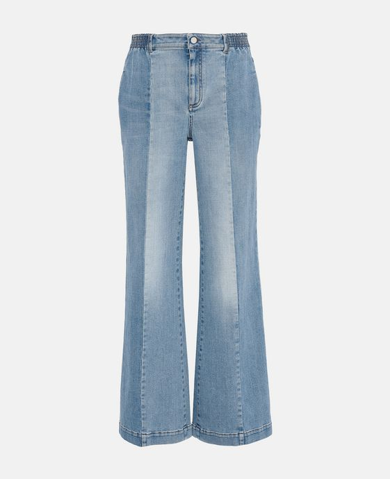 Kendal Wide Leg Denim Jeans