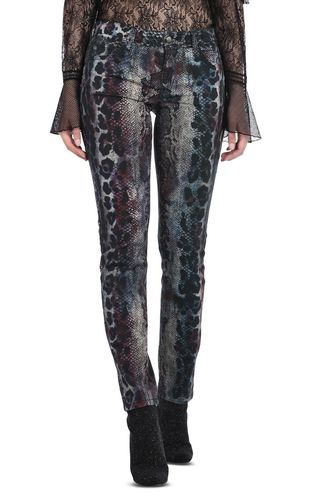JUST CAVALLI Jeans D Animal-print trousers f