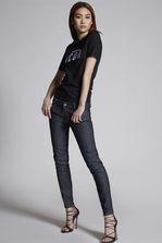 DSQUARED2 Medium Waist Skinny Jeans 五袋裤 女士