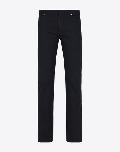 MAISON MARGIELA Slim fit black 5-pocket jeans Jeans U f