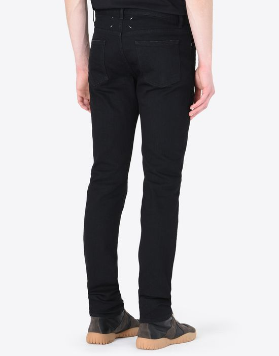 MAISON MARGIELA Slim fit black 5-pocket jeans Jeans [*** pickupInStoreShippingNotGuaranteed_info ***] e