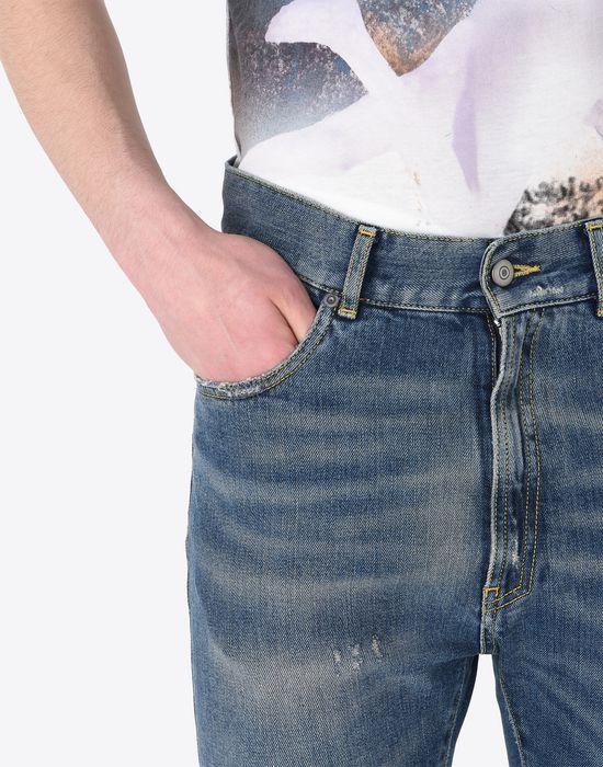 MAISON MARGIELA Cropped 5-pocket jeans Jeans U a