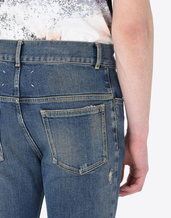 MAISON MARGIELA Cropped 5-pocket jeans Jeans U b