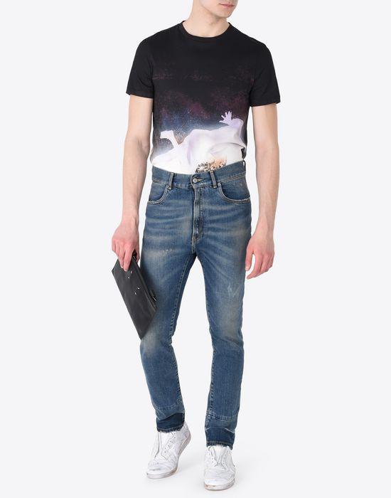 MAISON MARGIELA Cropped 5-pocket jeans Jeans U d