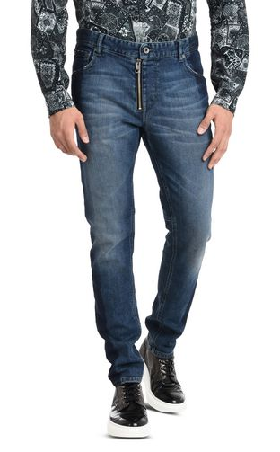 JUST CAVALLI Jeans U Trousers with visible zipper f