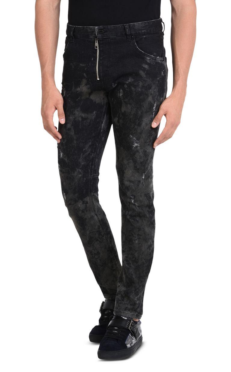 JUST CAVALLI Pre-faded slim-fit jeans. Jeans U f