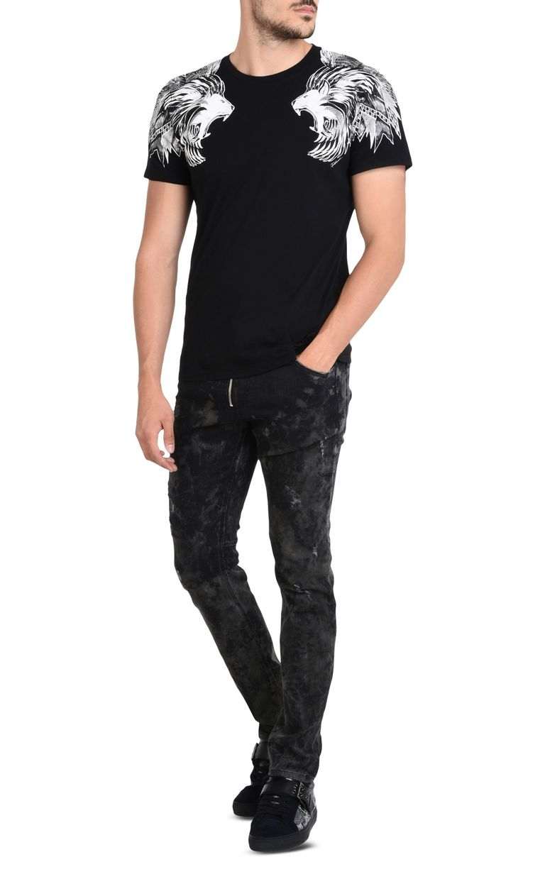 JUST CAVALLI Pre-faded slim-fit jeans. Jeans U r