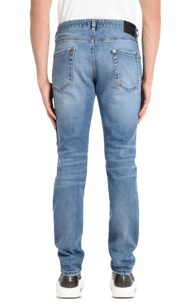 JUST CAVALLI Jeans with detailing and studs Jeans Man d