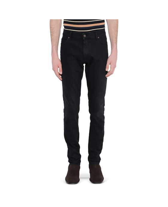 STELLA McCARTNEY MEN Black Dominic Skinny Jeans Men Skinny U i