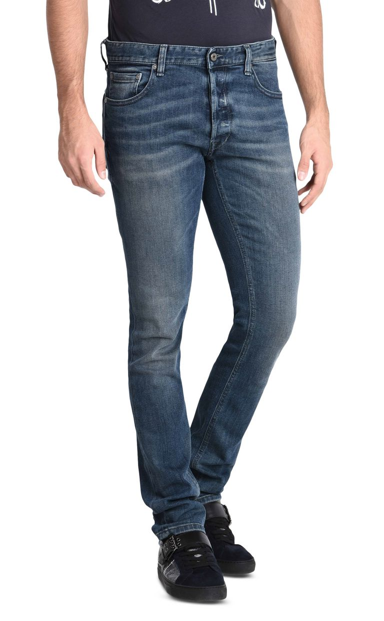 JUST CAVALLI Five-pocketed slim-fit denim trousers Jeans U f