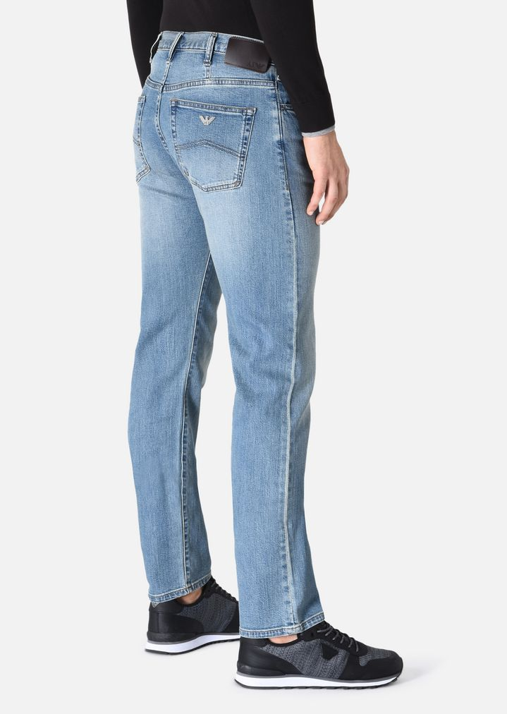 Herren Jeans Jeans Regular Armani Fit Fit Regular Armani eWEH2DbI9Y