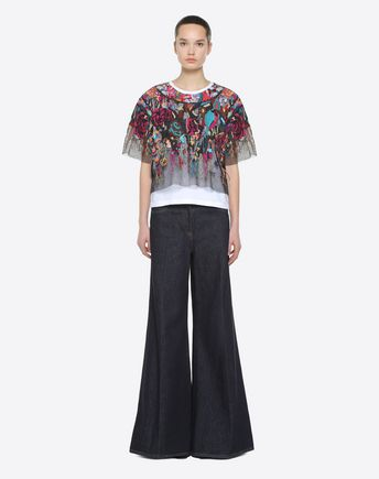 VALENTINO Trousers D Vinyl Trousers r