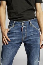 DSQUARED2 Dark Classic Kenny Jeans 5 pockets Man