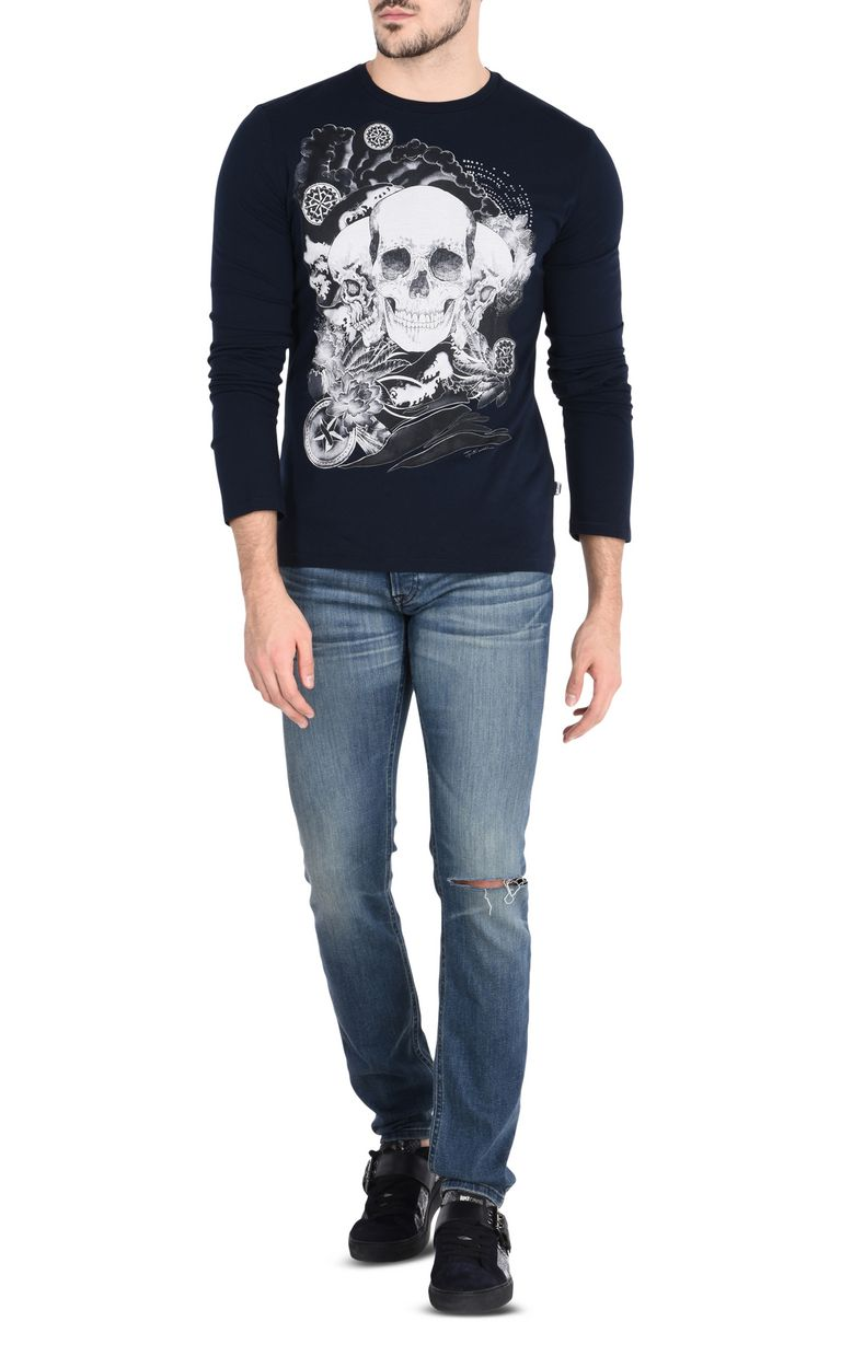JUST CAVALLI Ripped jeans with five pockets Jeans [*** pickupInStoreShippingNotGuaranteed_info ***] r
