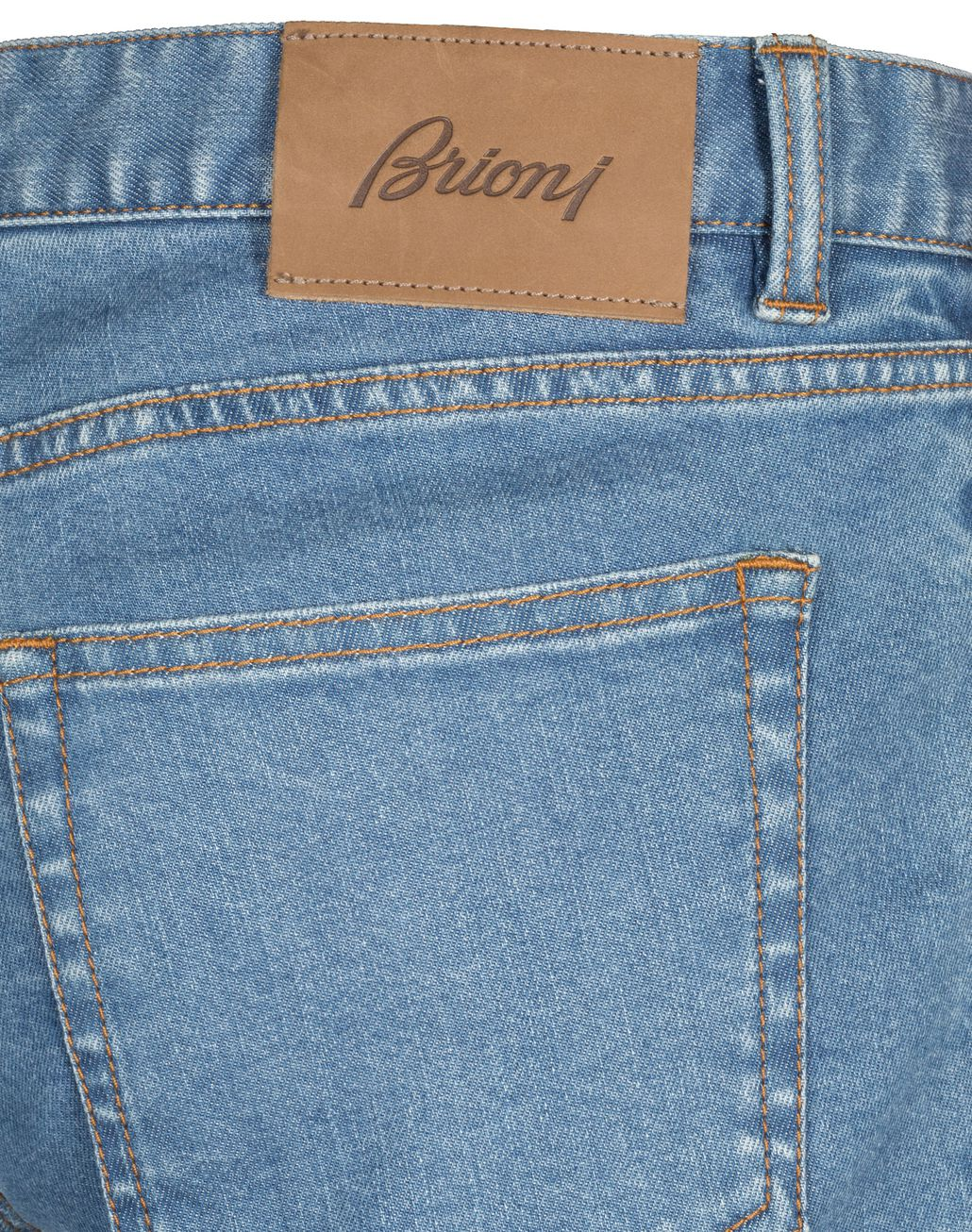 BRIONI Bluette Slim-Fit Aneto Jeans Denim Man a