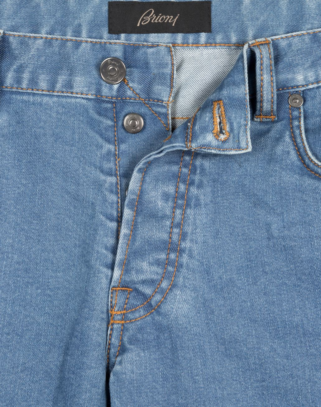 BRIONI Bluette Slim-Fit Aneto Jeans Denim Man b