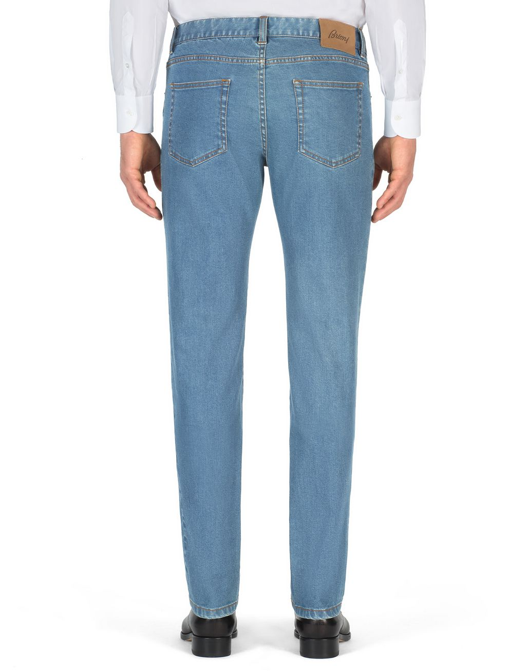 BRIONI Bluette Slim-Fit Aneto Jeans Denim Man d