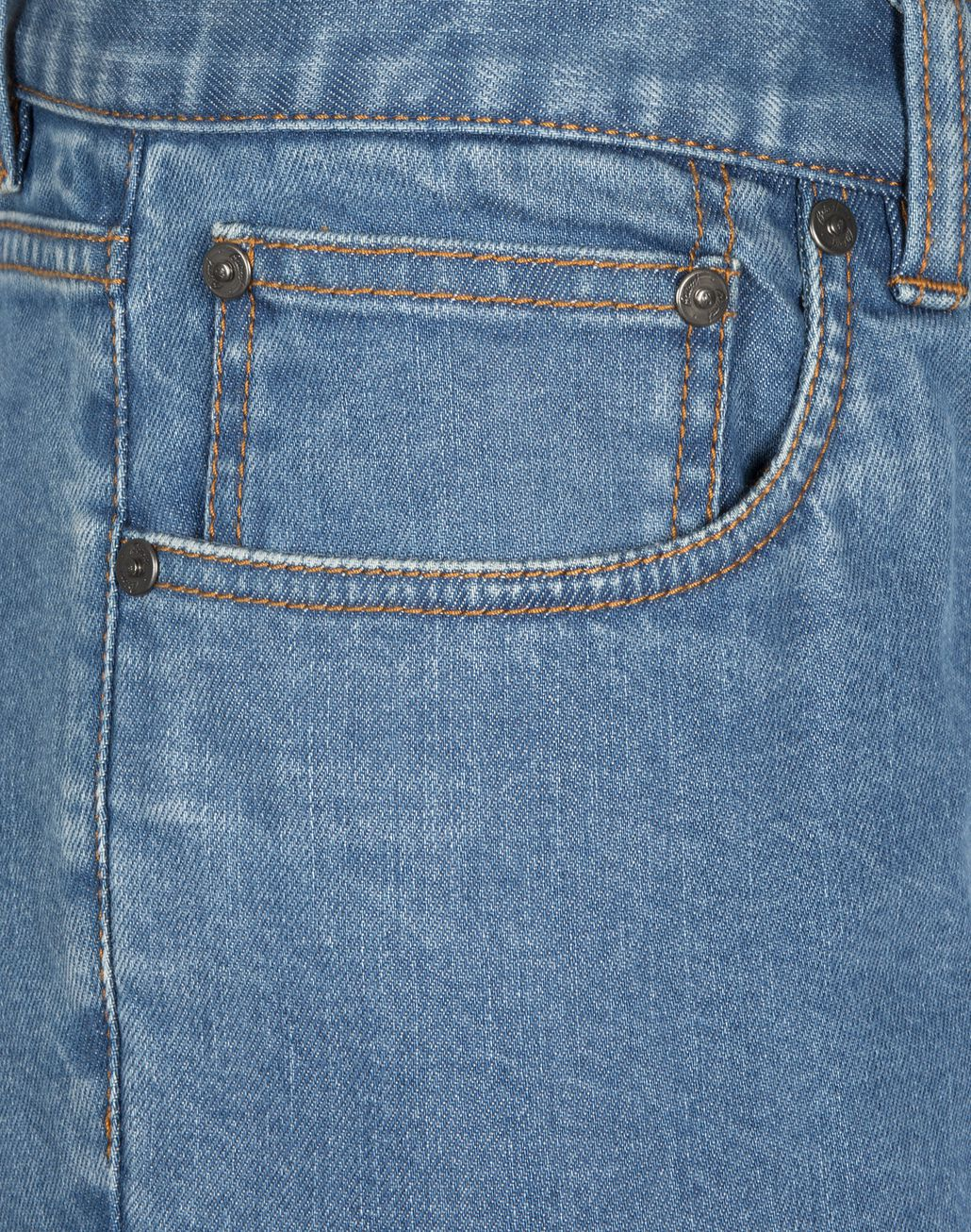 BRIONI Bluette Slim Fit Aneto Jeans Denim Man e