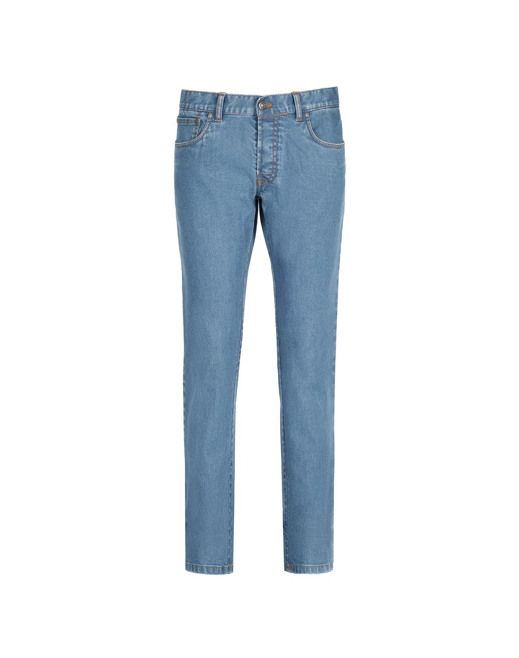BRIONI Bluette Slim Fit Aneto Jeans Denim Man f