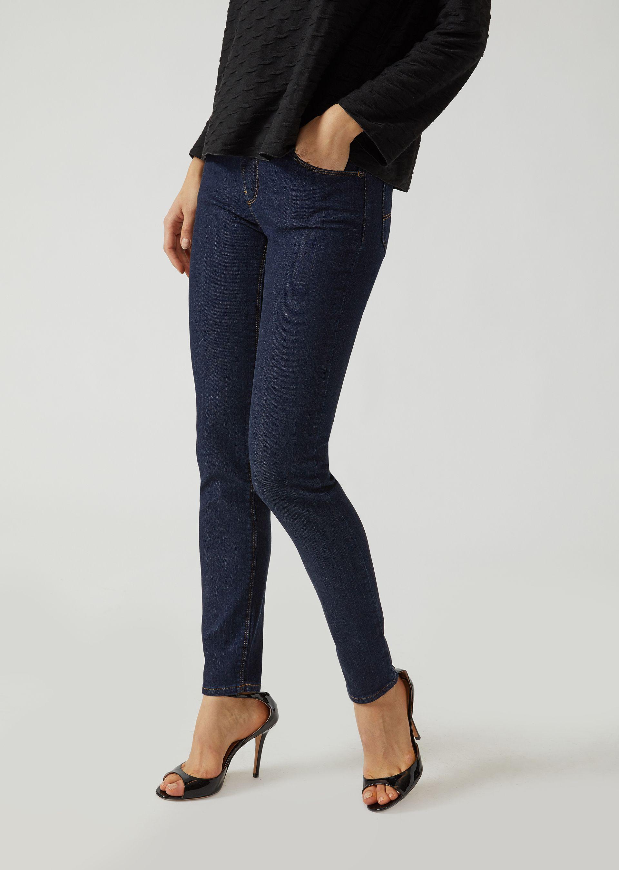 EMPORIO ARMANI Super skinny denim jeans Skinny Jeans D f ... 9448c835b00