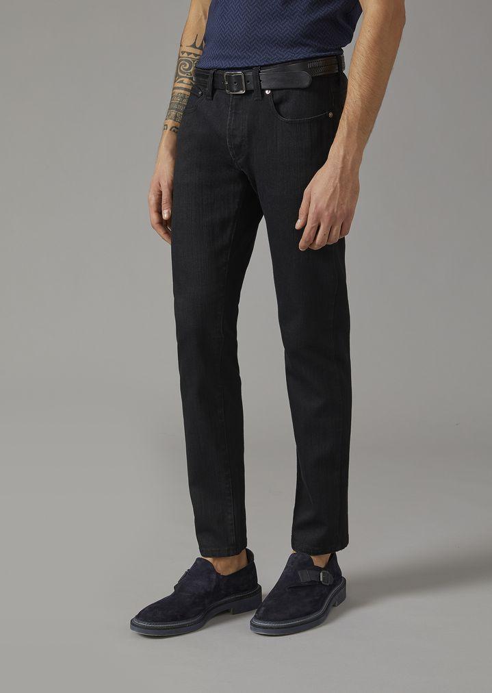 9a60a81ce9 Slim fit jeans | Man | Giorgio Armani