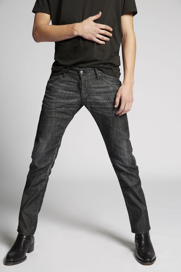 53761dc2f5adc Dsquared2 Black Regular Clement Jeans - 5 Pockets for Men
