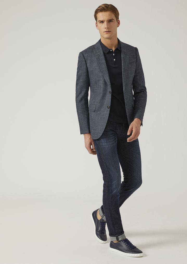 b8e3cefea161 EMPORIO ARMANI J20 EXTRA SLIM FIT STRETCH COTTON DENIM JEANS Skinny Jeans  Man d