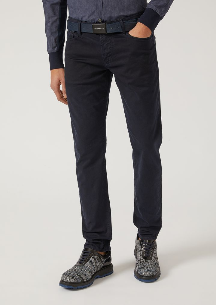 Discount For Cheap Online Shop From China DENIM - Denim trousers Gabardine paB9gJHSZR