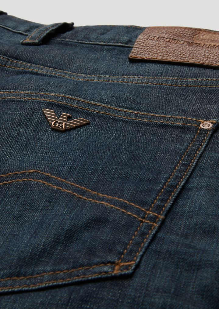 a554ad31abbd EMPORIO ARMANI J10 Extra-Slim-Fit Stretch Cotton Denim Jeans Skinny Jeans  Man b