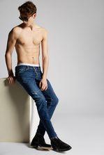 DSQUARED2 Dark Slim Jeans 5 bolsillos Hombre