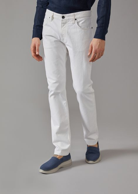 Regular fit five-pocket trousers