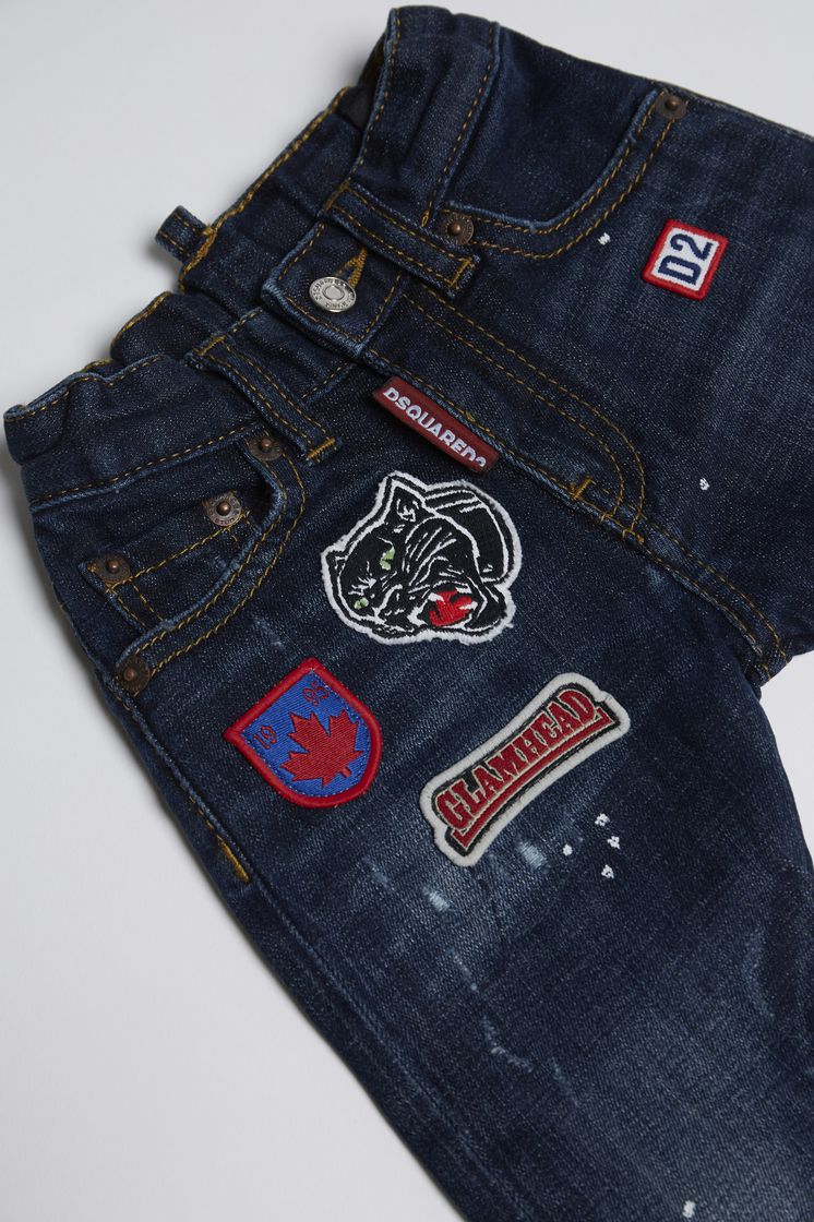 DSQUARED2 Patches Jeans 5 pockets Man
