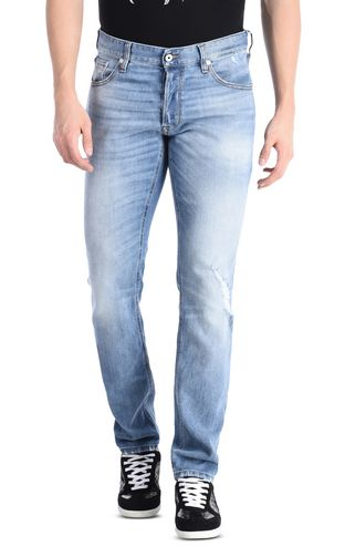 JUST CAVALLI Casual pants Man Jeans with writing and five pockets f