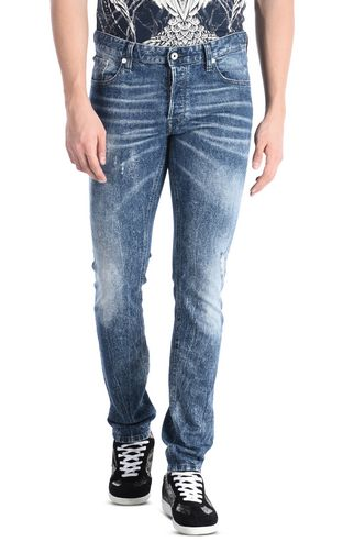 JUST CAVALLI Jeans U Cloud-effect jeans with five pockets f