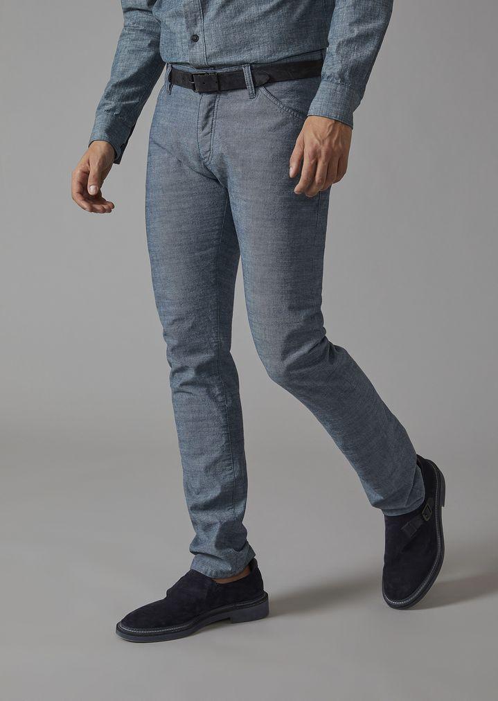 83386098610b Jeans in cotton denim