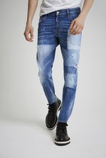 DSQUARED2 Light Patch Pocket Skater Jeans 5 pockets Man